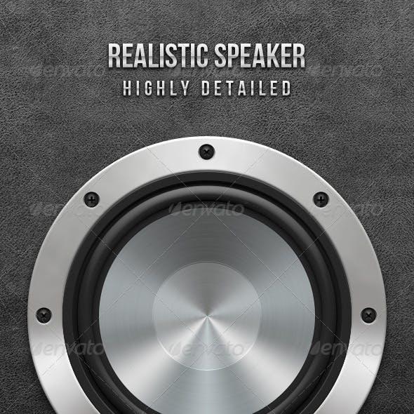 Realistic Speaker