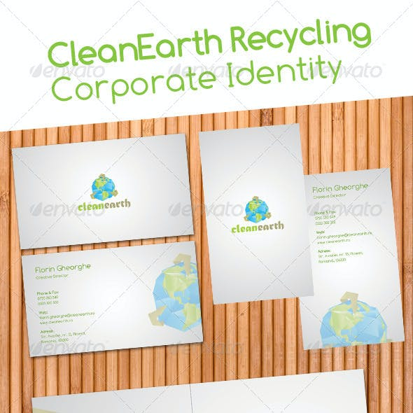 Clean Earth Recycling Corporate Identity