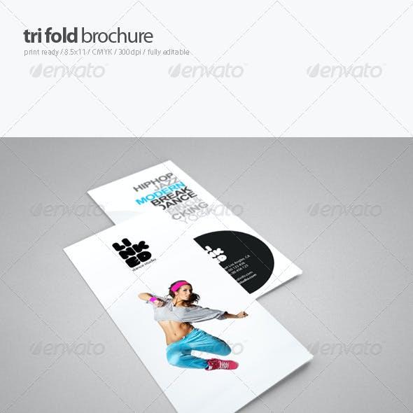 Dance Studio Brochure 3