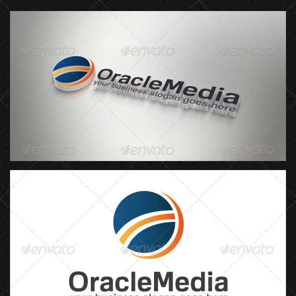 Oracle Media Logo Template