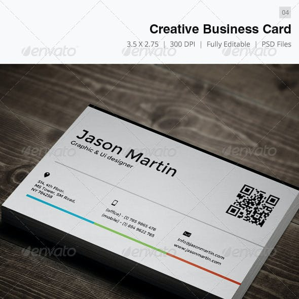 Creative Business Card - 04