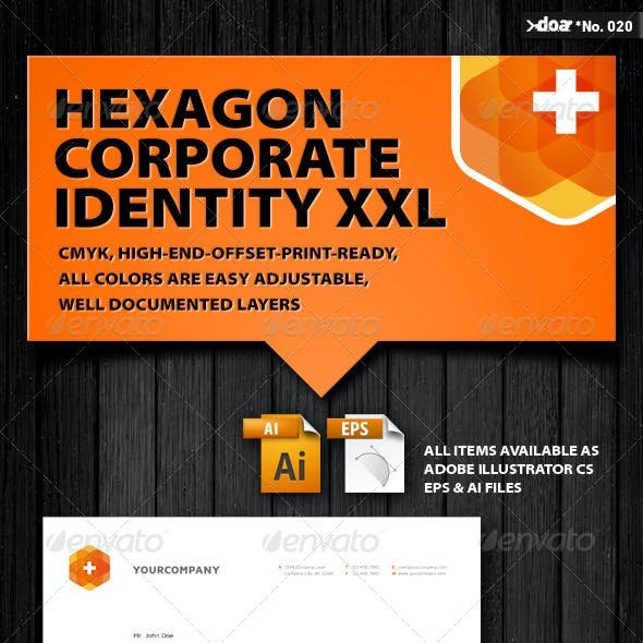Hexagon Corporate Identity XXL