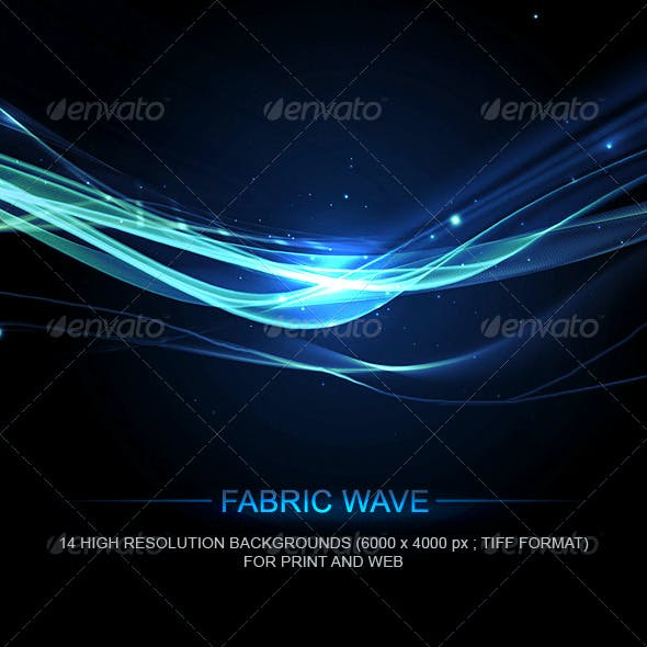 Fabric Wave Backgrounds