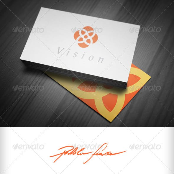 Abstract Floral Logo