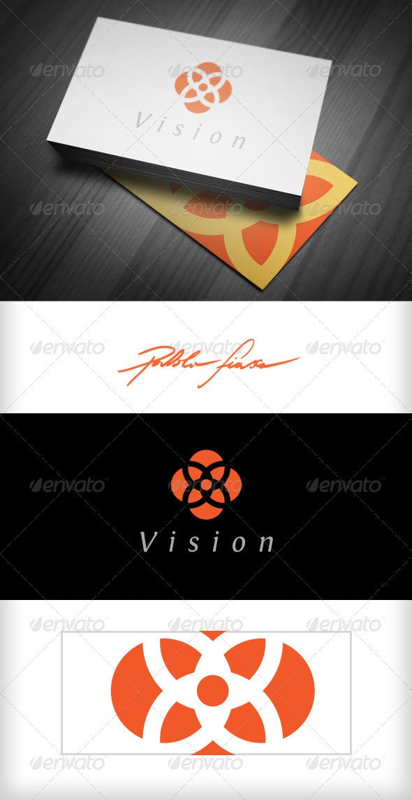 Abstract Floral Logo - Vector Abstract