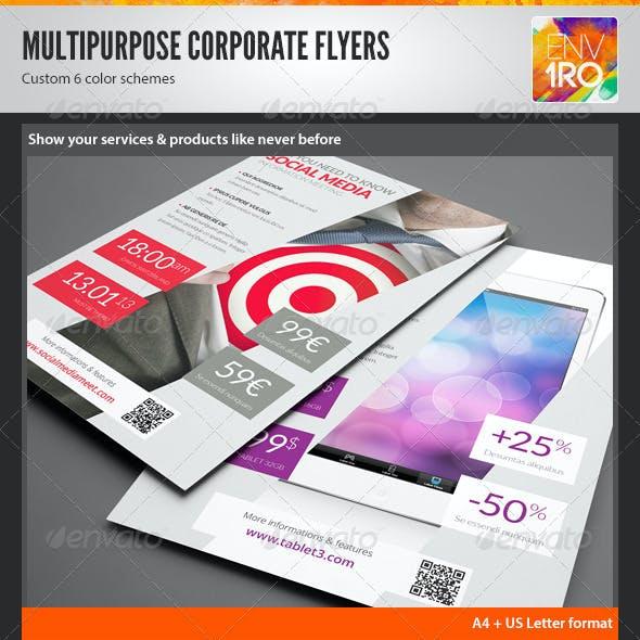 Multipurpose Product Showcase Flyer, Magazine Ad