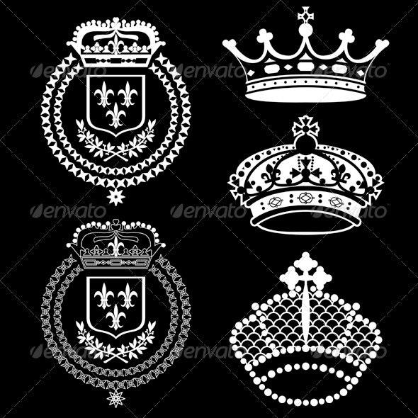 Crowns Vintage Set - Retro Technology