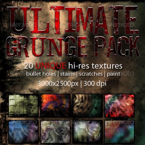 Ultimate Grunge Pack (20 original textures)