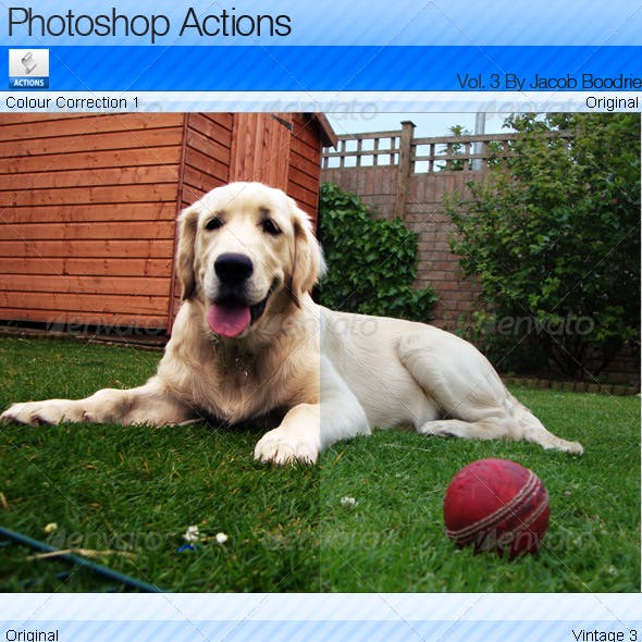 18 Professional Photoshop Actions