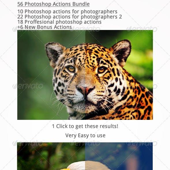 50 Photoshop Actions (BUNDLE)