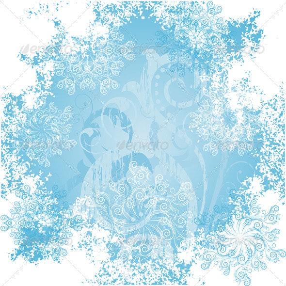 Frosty patterns - Christmas Seasons/Holidays
