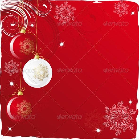 Purple background - Christmas Seasons/Holidays