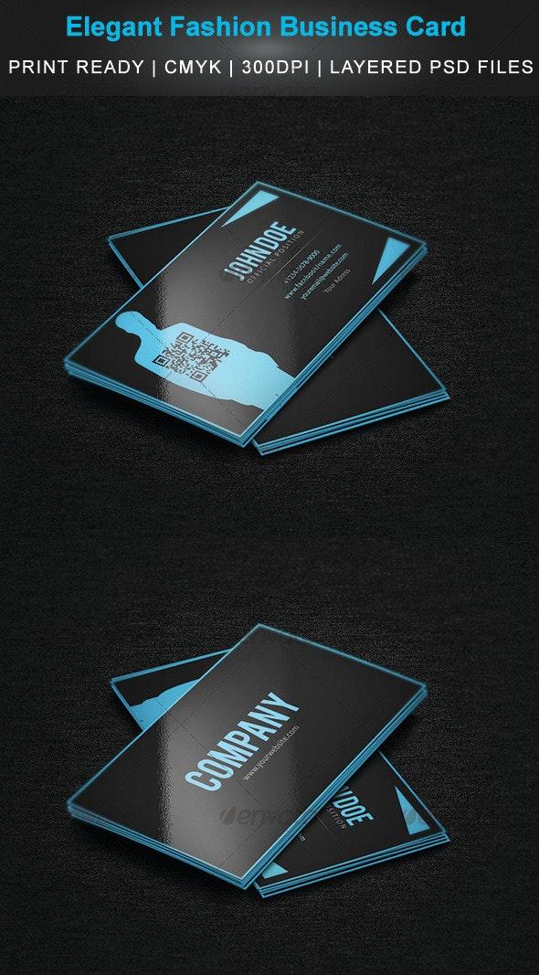 Elegant Fashion Business Card  - Creative Business Cards