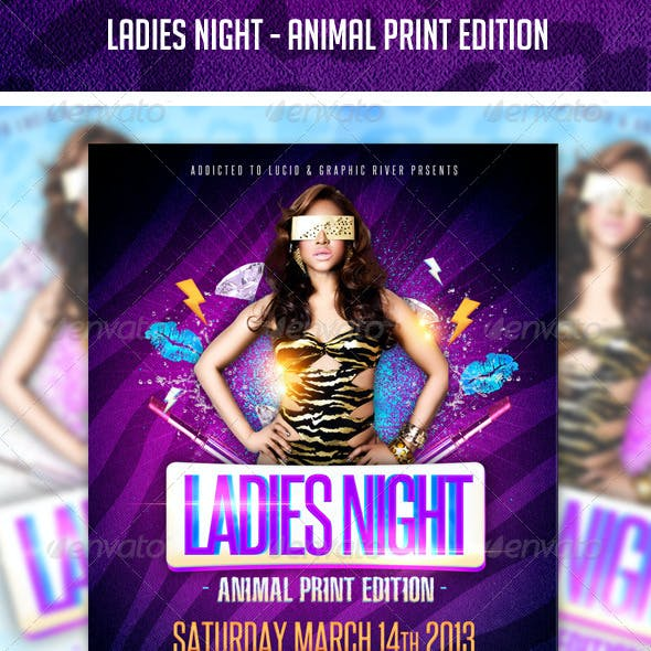 Ladies Night - Animal Print Edition