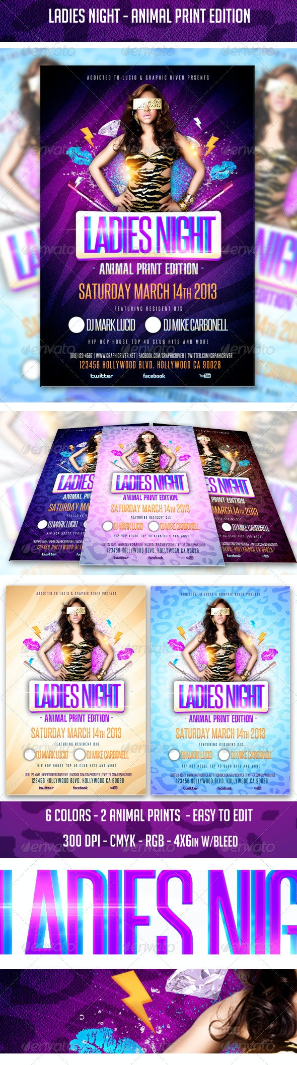 Ladies Night - Animal Print Edition - Clubs & Parties Events