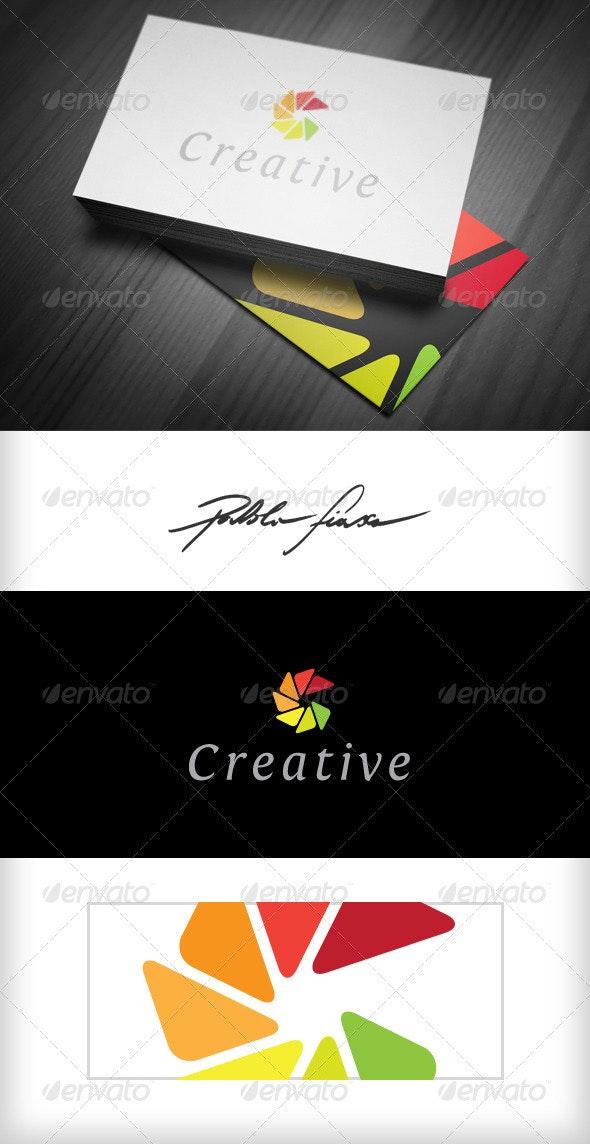 Letter C Creative Colour Wheel Logo - Letters Logo Templates