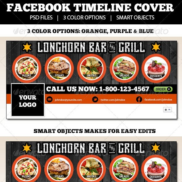 Restaurant Fb Timeline Cover