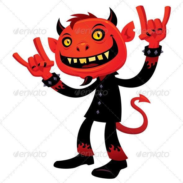 Heavy Metal Devil - Monsters Characters