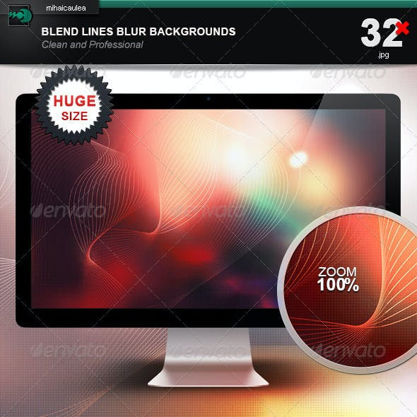 Blend Lines Blur Backgrounds