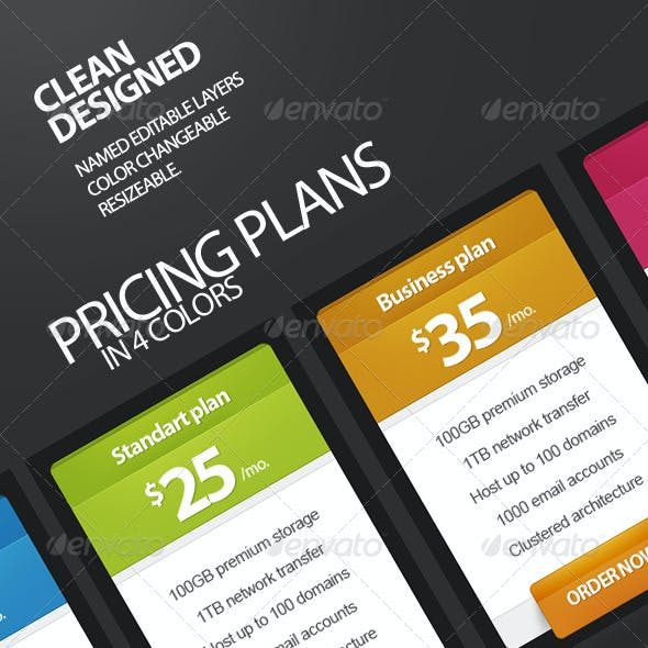 Pricing Plans, Buttons, Special Offer v2