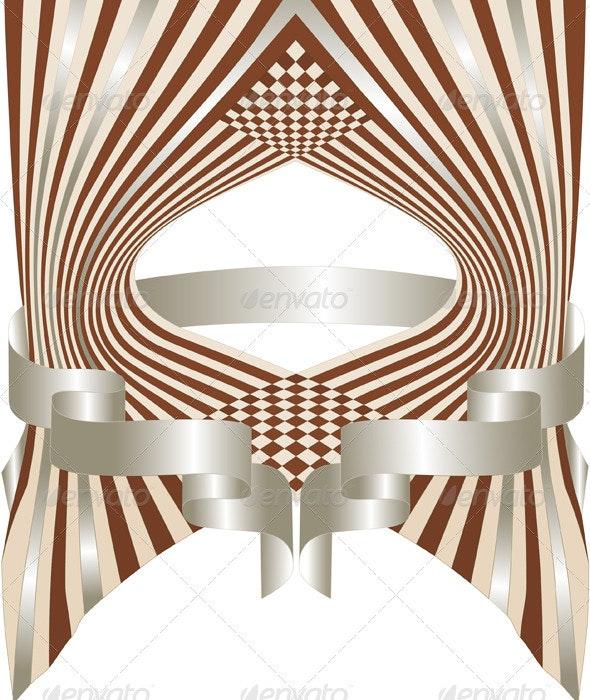 Decorative Frame Placard. - Borders Decorative