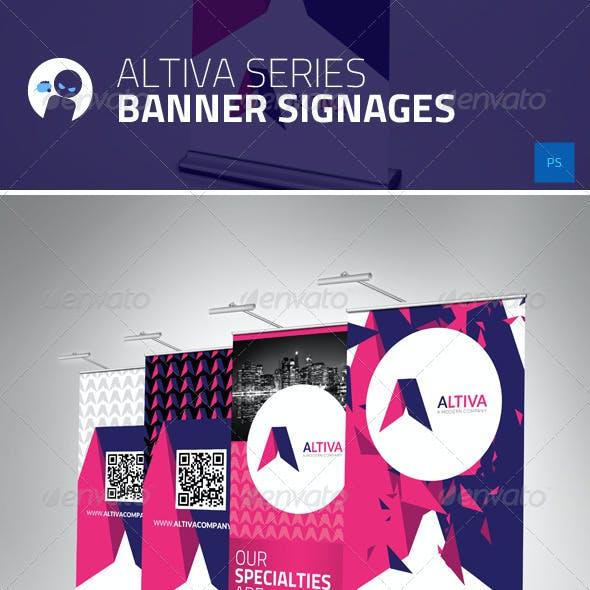 Altiva Series - Banner Signages