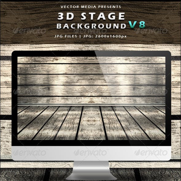 3D Stage Background - Vol.8