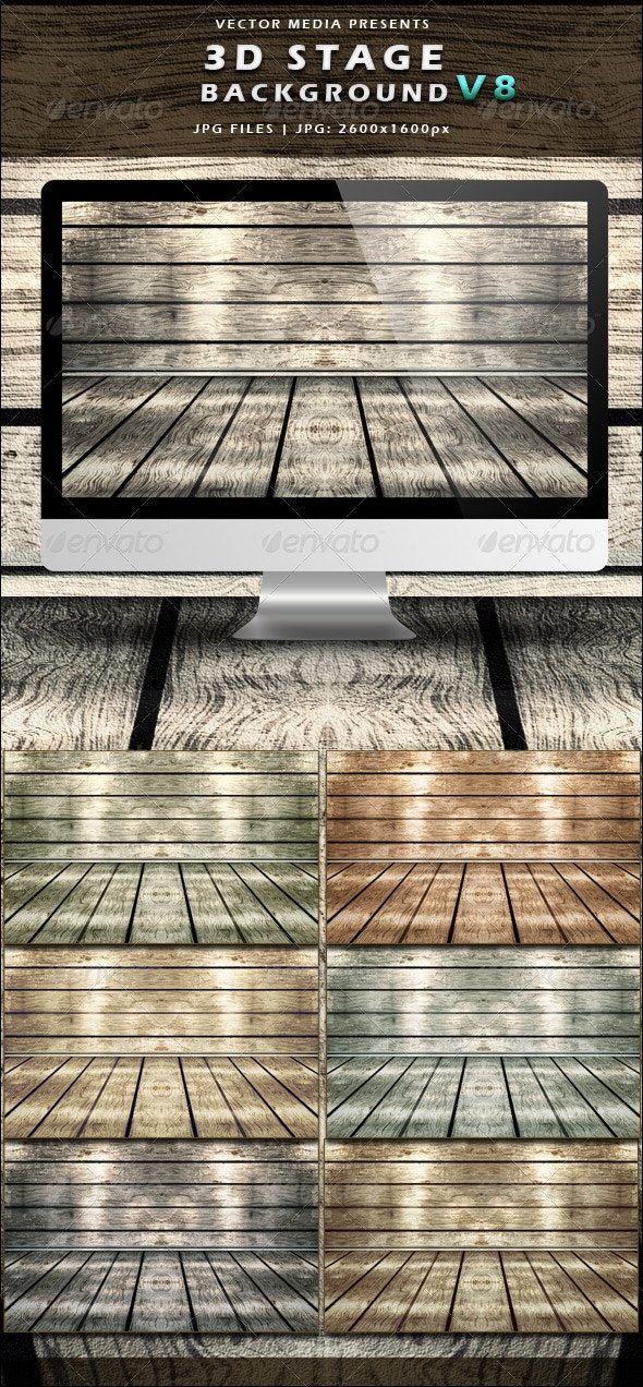 3D Stage Background - Vol.8 - 3D Backgrounds