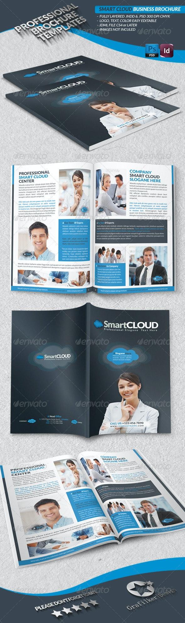 Smart Cloud Business Brochure - Brochures Print Templates