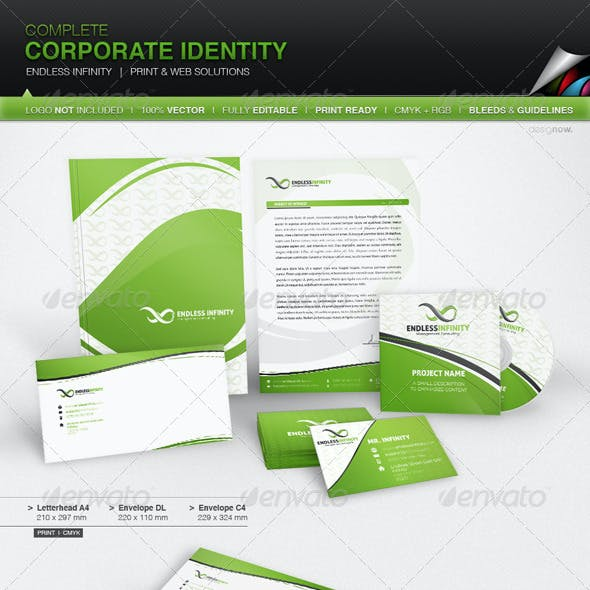 Corporate Identity - Endless Infinity