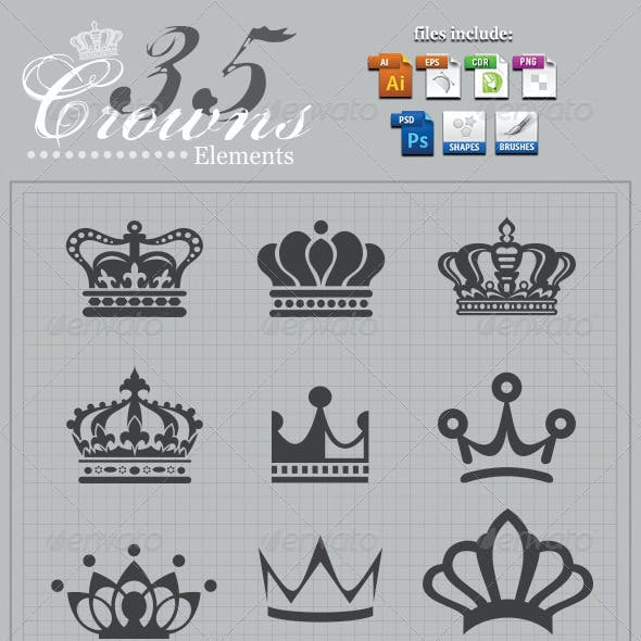 Crowns Elements v2