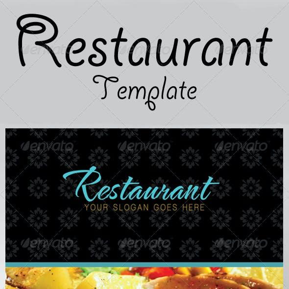 The Restaurant Flyer