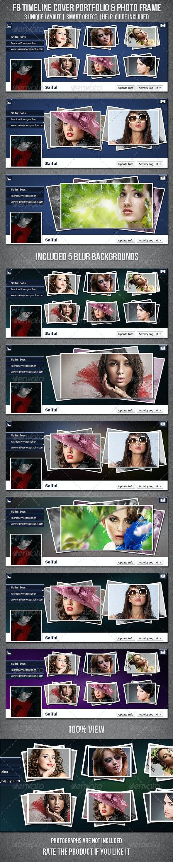 Facebook Timeline Cover Portfolio & Photo Frame - Facebook Timeline Covers Social Media