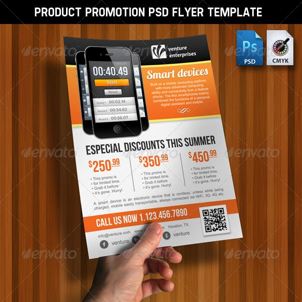 Product Promotion - Ad / Flyer - PSD Template