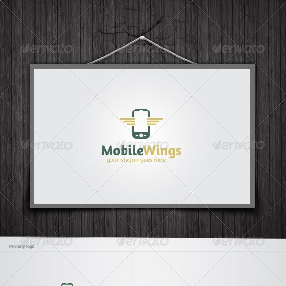 Mobile Wings Logo