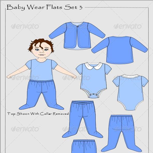 Baby Wear Flats Set 3