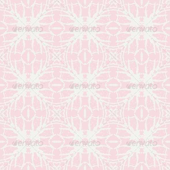 Bold Soft Cute Pink Romantic Pattern Ornament