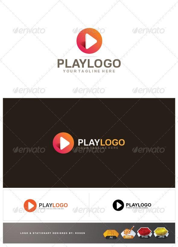Play Logo - Vector Abstract