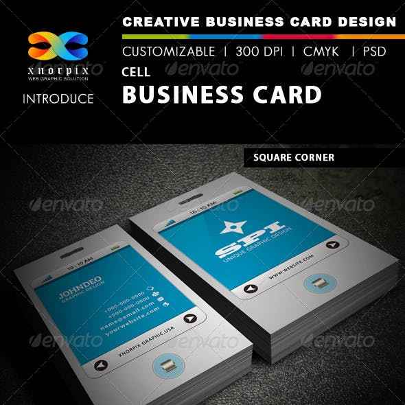 Cell Business Card