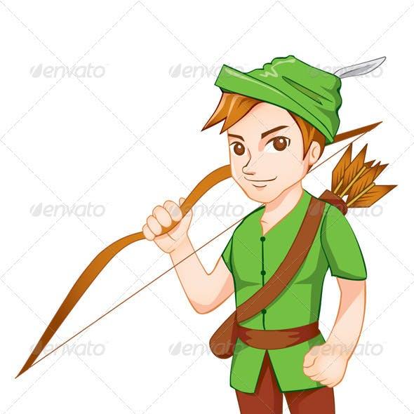 Robin Hood Mascot