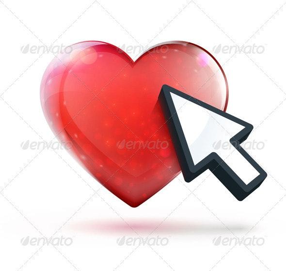 Dating Concept - Conceptual Vectors