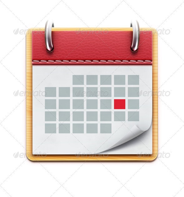 Calendar Icon - Objects Vectors