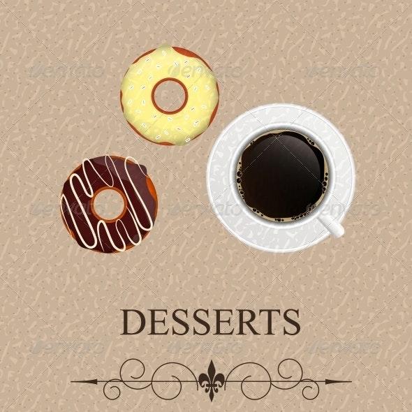 Vector Dessert Menu - Birthdays Seasons/Holidays