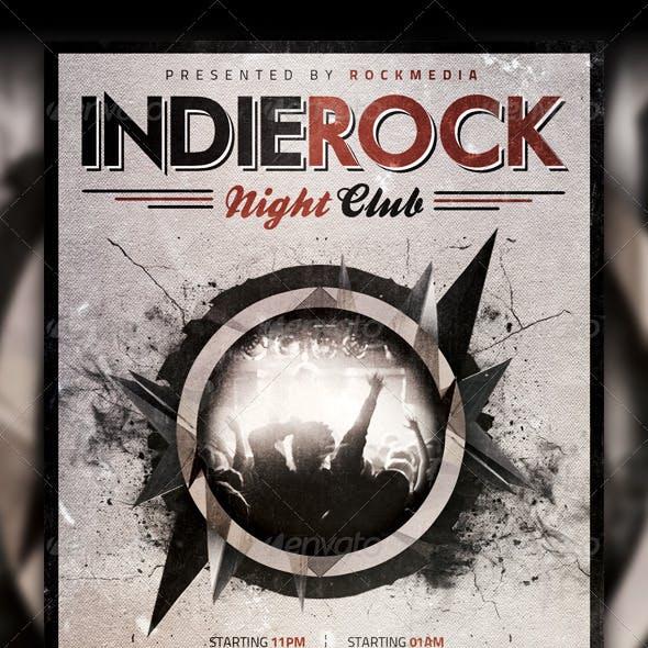 Indie Rock Concert / Party Flyer