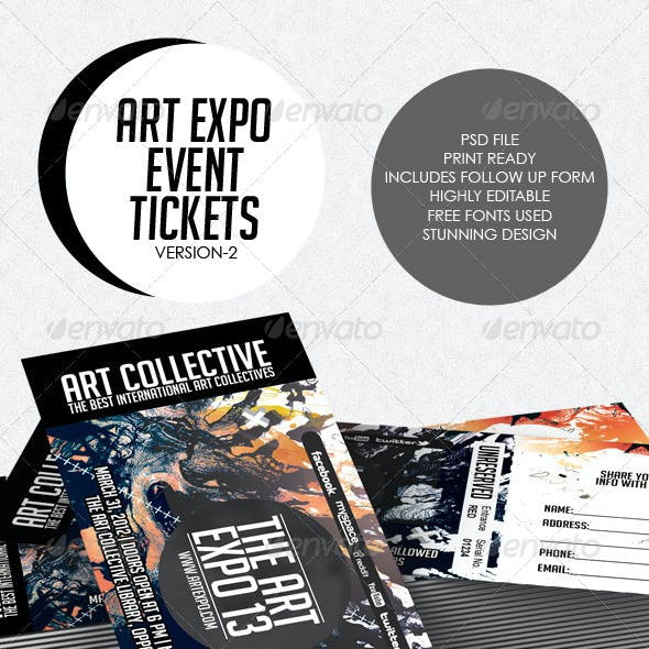 Art Expo Art Show Event Tickets & Passes V.2