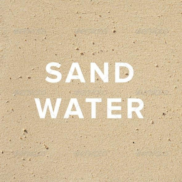 Sand Water Textures