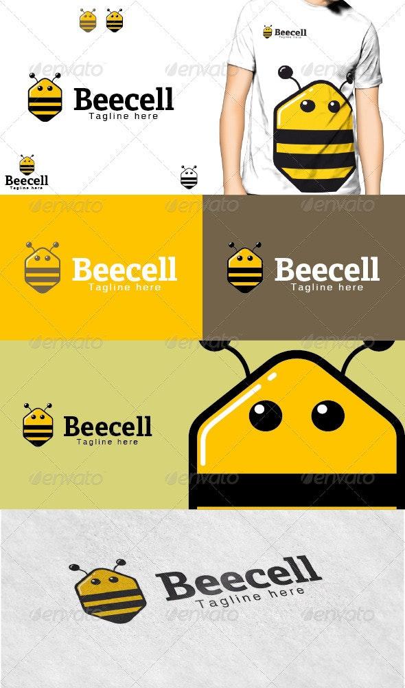 Beecell Logo - Animals Logo Templates