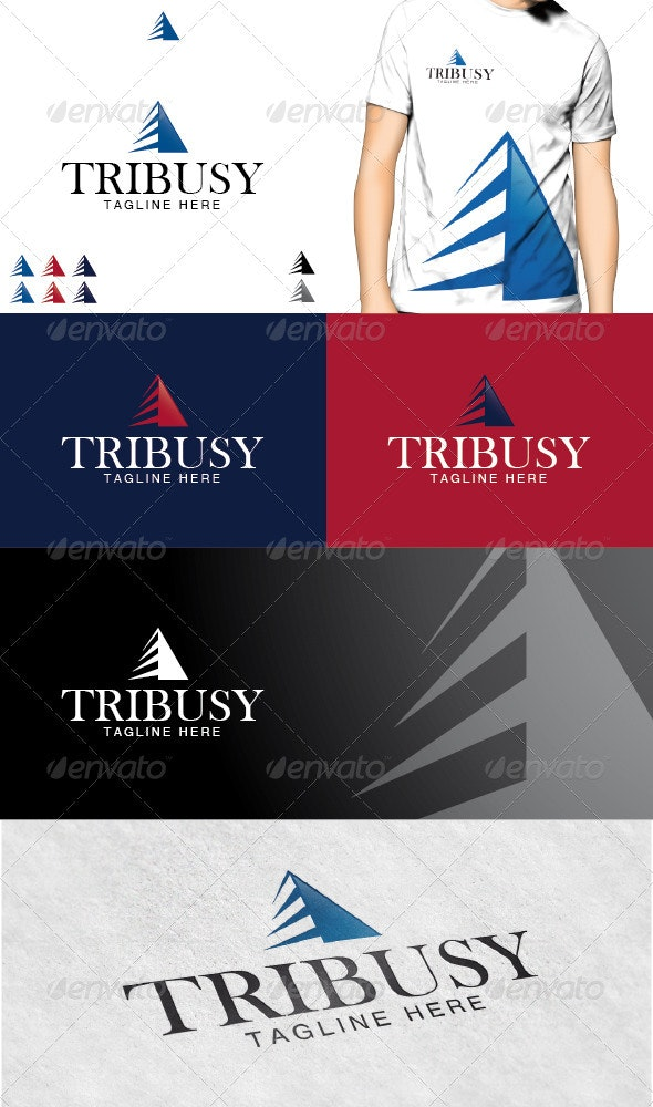 Tribusy Logo - Vector Abstract