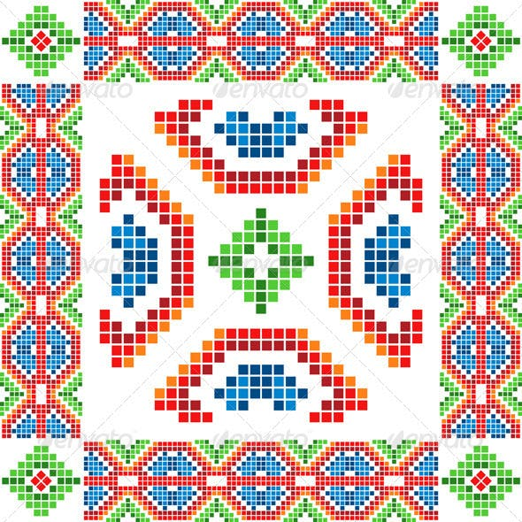 Ethnic Abstract Ornaments