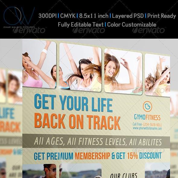Fitness - GYM Flyer